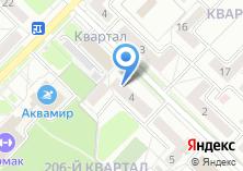 Компания «Альфа Окна» на карте