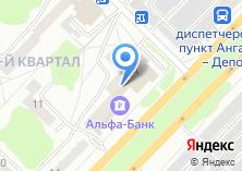 Компания «АЛЬФА-БАНK» на карте