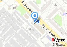 Компания «Строящееся административное здание по ул. Рыночная (г. Ангарск)» на карте