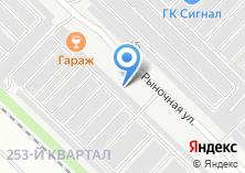 Компания «Сиб-сервис» на карте