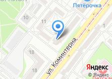 Компания «СибАтом» на карте