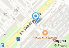 Компания «РосСибНефть» на карте