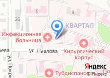 Компания «Иркутская областная инфекционная клиническая больница» на карте