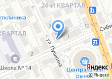 Компания «Шатура Мебель» на карте