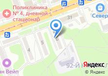 Компания «Ангарск-окна Теплоff торгово-монтажная компания» на карте