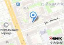 Компания «Солид Банк» на карте