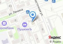Компания «Ангарская городская типография» на карте