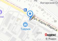 Компания «ИркутскУАЗато» на карте