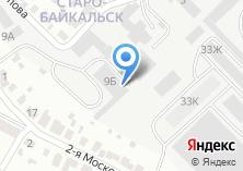 Компания «Востсибтрест» на карте
