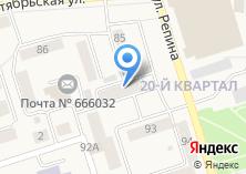 Компания «Каскад-Сервис» на карте