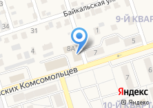 Компания «Министерство социального развития» на карте
