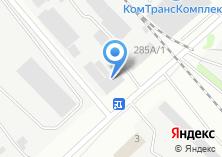 Компания «Химлак» на карте