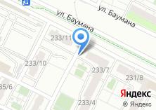 Компания «Строящийся жилой дом по ул. Баумана» на карте
