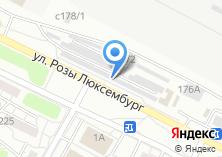Компания «Магазин напольных покрытий» на карте