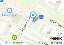 Компания «Иркутская Губерния» на карте