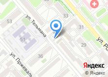 Компания «Барнаульские сыры» на карте