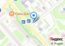 Компания «Торговая сеть» на карте