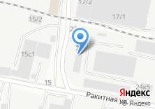 Компания «СК Сибирь» на карте