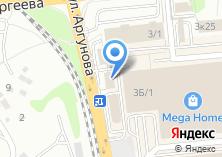Компания «Метек» на карте