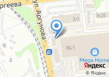 Компания «Аркос» на карте