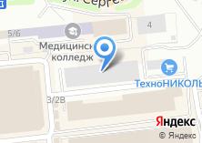 Компания «ТехноНИКОЛЬ» на карте