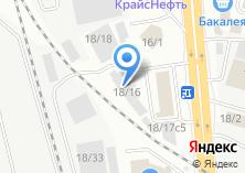 Компания «ТК РАПИД» на карте