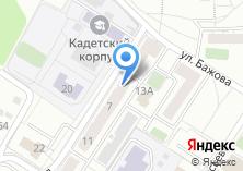 Компания «Жилые комплексы Управление капитального строительства г. Иркутска МУП» на карте