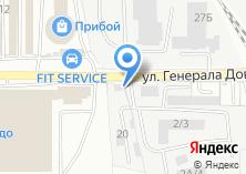 Компания «Геострон» на карте