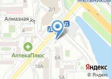 Компания «Иркутский хлебозавод сеть продуктовых магазинов» на карте