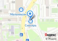 Компания «Каракатица» на карте