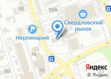 Компания «Комитет по управлению Свердловским округом» на карте