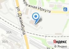 Компания «ВостСибТрансЛогистик» на карте