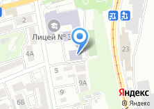 Компания «Лицей №36» на карте