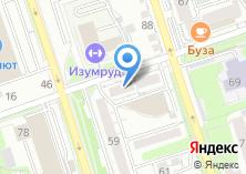 Компания «Зоодом38» на карте