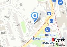 Компания «Магас» на карте