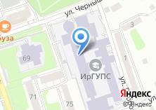Компания «ИрГУПС» на карте