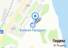 Компания «Байкал Продукт омулевая бочка» на карте