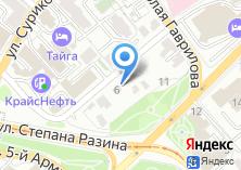 Компания «Green House» на карте