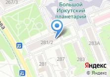 Компания «Иркутскстройтранс» на карте