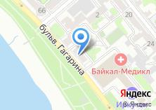 Компания «Иркутский магазин недвижимости» на карте