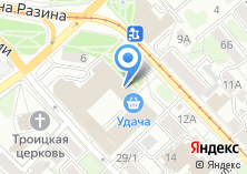 Компания «ГипродорНИИ-Сибирь» на карте