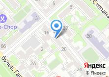 Компания «АВиК» на карте