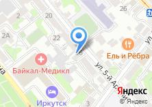 Компания «Байкал24» на карте