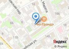 Компания «Юнекст» на карте