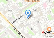 Компания «Иркутская нефтяная компания» на карте
