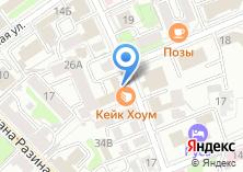 Компания «Иркутский кондитерский комбинат» на карте