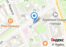 Компания «VeloDrive» на карте