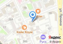 Компания «Восточно-Сибирский путь» на карте