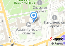 Компания «Информационно-технический центр Иркутской области» на карте