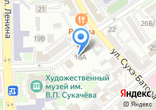 Компания «Иркутский областной центр народного творчества» на карте
